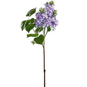 26″ Silk Lilac Flower Stem -Lavender (Pack of 6)