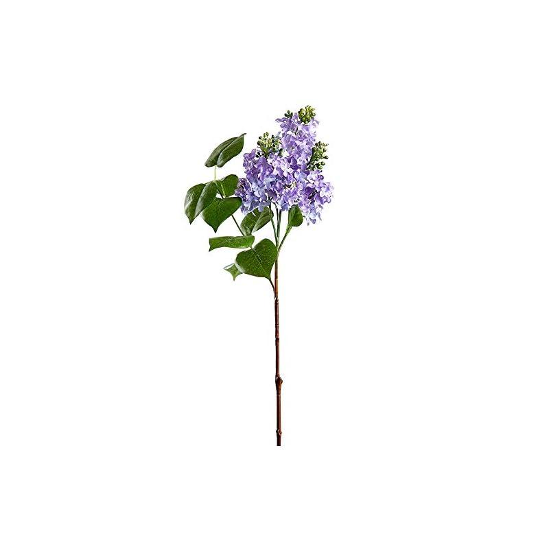 "silk flower arrangements 26"" silk lilac flower stem -lavender (pack of 6)"