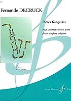 デュクリュック : フランス風小品 (サクソフォン、ピアノ) ビヨドー出版