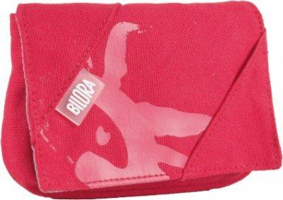 Bilora Cotton Tasche für Kompaktkamera rot