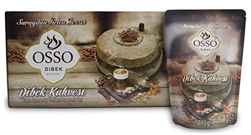 Osso Ottoman Dibek Kahve Coffee Türkische Kaffee 3x 200 g