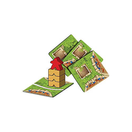 Carcassonne The Tower Board Game EXPANSION 4 | Family Board Game | Board Game for Adults and Family | Strategy Board Game | Medieval Adventure Board Game | 2-6 Players | Made by Z-Man Games