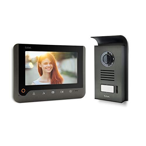 Extel 720287Nova Videocitofono, Grigio