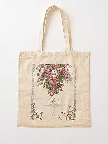 Générique Horror Scary Retrato Yuko Midsomar Florence Florence - Bolsas de lona con asas, de algodón duradero