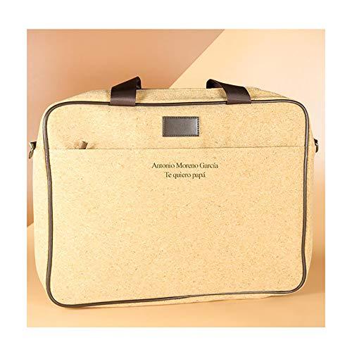 Regalo personalizable: maletín de ordenador personalizado con el texto que tú quieras