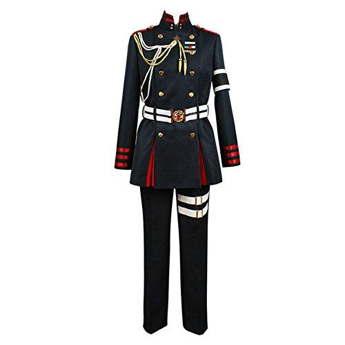 Seraph of The End Guren Ichinose Uniform Cosplay Kostüm Herren L