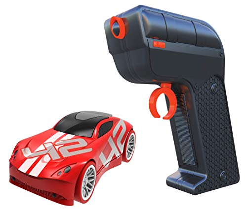 Tracer Racers Second Generation 2.4 GHz R/C High Speed Radio Control 1:64 Scale Race Add-on Car - Red