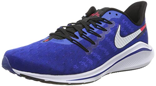Nike Air Zoom Vomero 14 Men's Running Shoe Indigo Force/Photo Blue-RED Orbit 10.0
