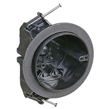 Carlon FN-426-C-V Ceiling Fan/Fixture Box New Work Vapor-tight 4-Inch Diameter by 2-3/4-Inch Depth Black