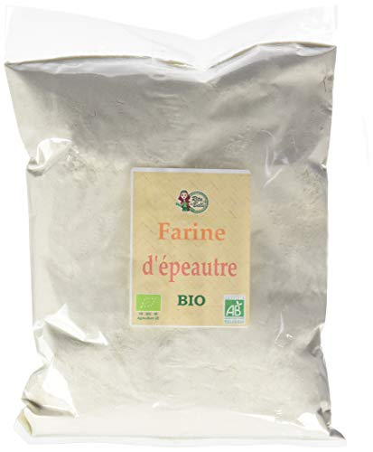 RITA LA BELLE Farine d'Epeautre Bio 1 kg - Lot de 3