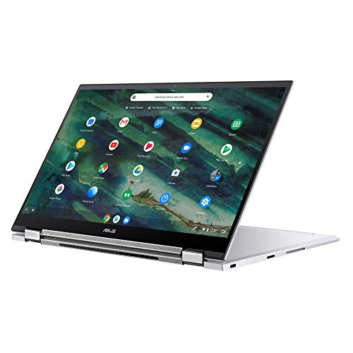 ASUS Chromebook Flip C436FA (90NX0PS2-M00310) 35,5 cm(14 Zoll, Full HD, IPS-Level, NanoEdge,Touch) Convertible Notebook (Intel Core i5-10210U, Intel UHD-Graphics, 8GB RAM, 512GB SSD, Chrome OS) Silver