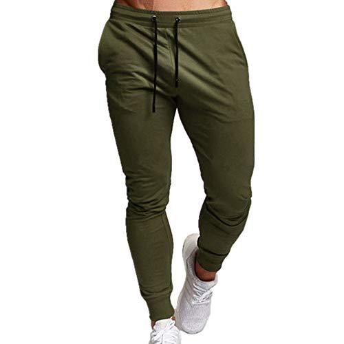 Gimnasio Ropa Traje De Hombre Leggings Pantalones Casuales Fitness Pantalones