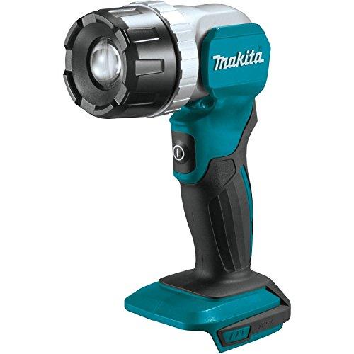 Makita DEADML808 DML808 LED-Taschenlampe, 18 V, Schwarz, Blau, Silber