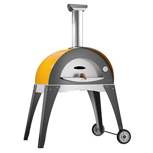 Alfa Forni FXCIAM-LGIA Ciao - Horno para pizza, color amarillo
