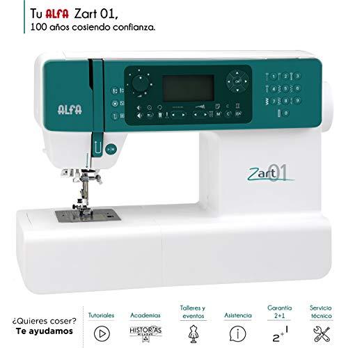 Alfa ZART01-Maquina de Coser electrónica