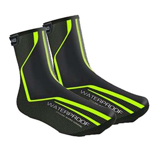 Lixada Überschuhe Fahrrad Regenüberschuhe Schuhüberzug Schuhschutz Wasserdicht Winddicht Leichter Thermo Overshoes zum Radfahren Rennrad MTB Fahrrad …