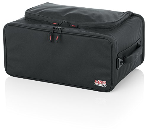 Gator Cases Lightweight Rack Bag with Removable Shoulder Strap; 4U Rack - 12.5