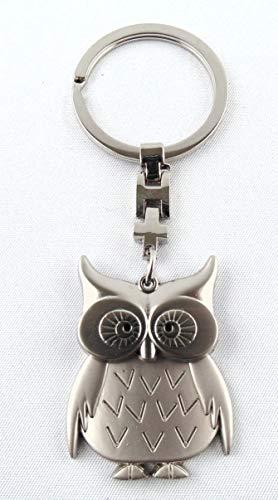 Eule Schlüsselanhänger Metall