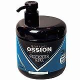 Morfose Ossion Rasiergel 3in1 900ml Shaving Gel Men Transparent Pflegt gibt Feuchtigkeit Schütz die...