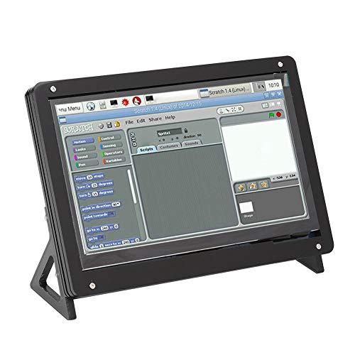 N#A 7-Zoll-Plus-Bildschirmgehäuse, Bildschirmgehäuse, Schwarz für Unterstützung(Plastic Bracket Shell + 7 inch Display)