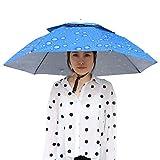 Haokaini Chapeau de Parapluie 37. 4 Pouces de Diamètre Pêche Camping Soleil Pluie...