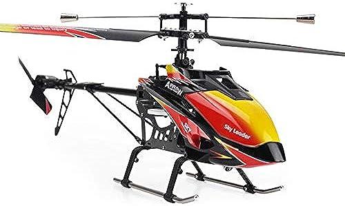 Pinjeer 2.4GHz 4ch Einzelpropeller Rc Hubschrauber 70cm Eingebauter Gyro Spielzeug Rc Hubschrauber Modell mit LCD-Sender Lernspielzeug Geburtstagsgeschenke für Kinder 14+ (Größe   2-Battery)