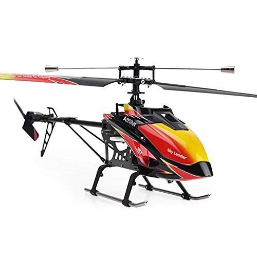 Pinjeer 2.4Ghz 4Ch Single-Propeller Rc Helicopter 70Cm Built-In Gyro Toys 3-Battery
