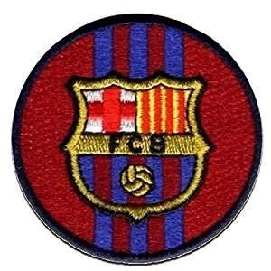 Barça Parche Fútbol Club Barcelona Decorativo Termoadhesivo 6 x 6 cm