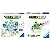 Ravensburger GraviTrax Erweiterung Bauen - Ideales Zubehör für spektakuläre Kugelbahnen & GraviTrax Erweiterung Vulkan - Ideales Zubehör für spektakuläre Kugelbahnen