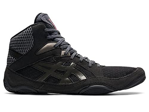 ASICS Men's Snapdown 3 Wrestling Shoes, 8.5W, Black/Gunmetal