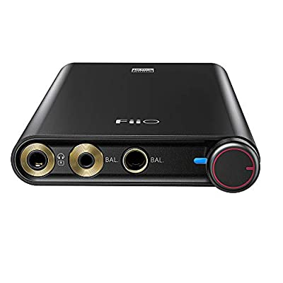 FiiO Q3 Headphone Amplifier DSD512   768K/32Bit AK4462DAC with THX AAA amp Technology for MobilePhone &PC with (2.5/3.5/4.4mm) Output from Fiio