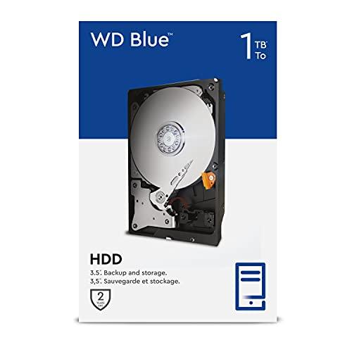 WD Blue 1TB 3.5 Zoll Interne Festplatte - 5400 RPM Class, SATA 6 Gb/s, 64MB Cache