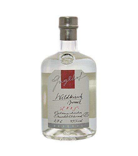 Guglhof: Wildkirsch Brand - Jahrgangsbrand / 42% Vol. / 0,7 Liter - Flasche