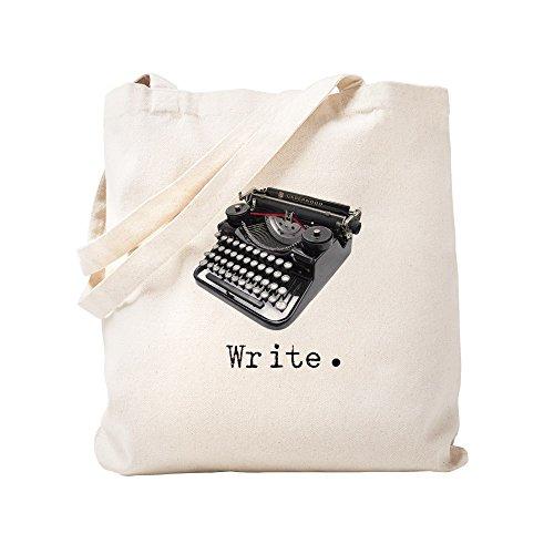 CafePress–Schreibmaschine–Leinwand Natur Tasche, Reinigungstuch Einkaufstasche Tote S khaki