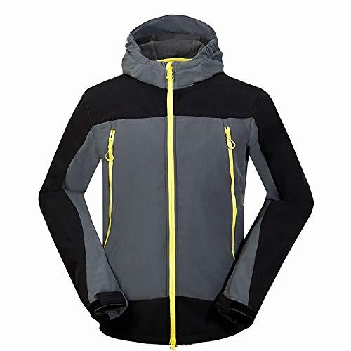 Starry sky Heren jas, korte dikke warme sporten en vrije tijd, anti-statische, winter waterdichte winddichte ski-jas