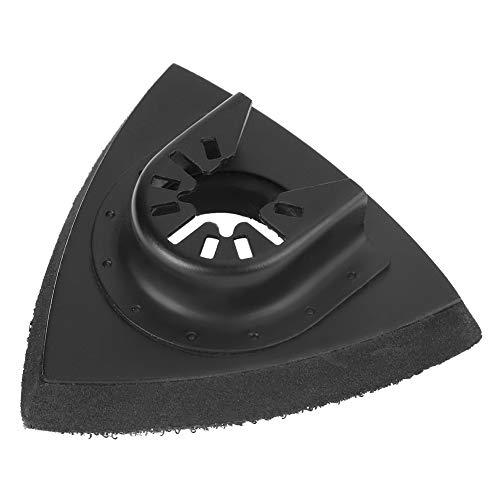 Hojas de herramienta oscilantes, 82 piezas Kit de lijado de acero al carbono Kit de lijado de sierra oscilante Almohadilla de arena Almohadilla de lijado Multiherramienta para Bosch Stanley