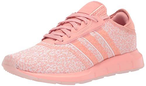 adidas Originals Women's Swift Essential Sneaker, Trace Pink/White, 11