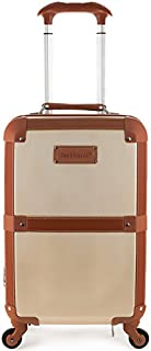 Stage Coach 20 Inch Rolling Trunk, Champagne, One Size