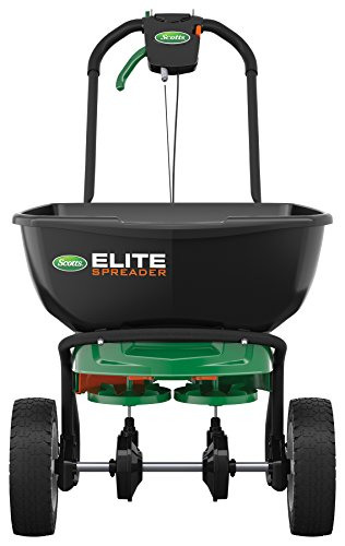 Scotts 75902 Elite Broadcast Spreader, Single Pack