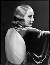 Barbara Stanwyck 8 inch by 10 inch PHOTOGRAPH Double Indemnity The Big Valley The Lady Eve Profile & Backless Dress kn
