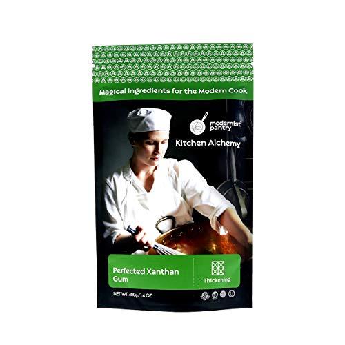 Perfected Xanthan Gum ⊘ Non-GMO ❤ Gluten-Free ☮ Vegan ✡ OU Kosher Certified - 400g/14oz