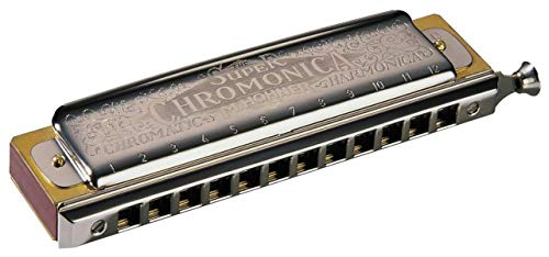 Hohner Armónica Super Chromonica 270-C, plata