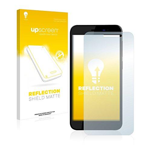 upscreen Entspiegelungs-Schutzfolie kompatibel mit Archos 50 Power – Anti-Reflex Bildschirmschutz-Folie Matt