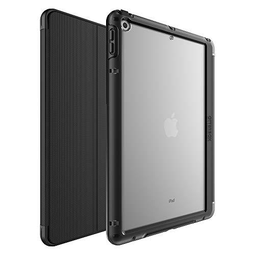 OtterBox Symmetry Folio Sturzsichere Folio Schutzhulle mit integriertem Stifthalter fur Apple iPad 102 Zoll 7th Gen 2019 8th Gen 2020 schwarz