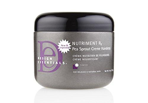 Design Essentials Nutriment RX Pea Sprout Creme Hairdress 4 oz by Design Essentials