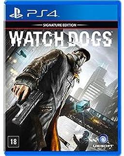 GAME WATCH DOGS SIGNATURE EDITION (VERSAO EM PORTUGUES) UBI - PS4