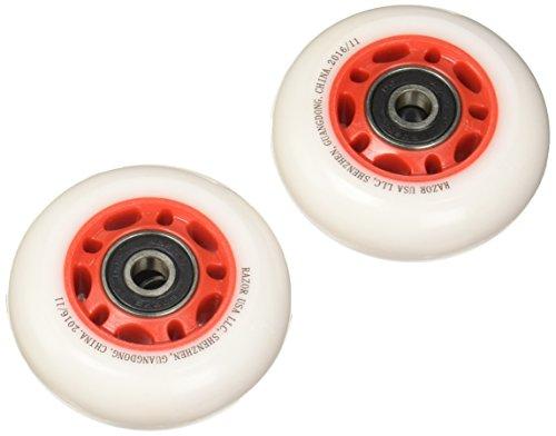 Razor PowerWing FlashRider 360 Replacement Rear Wheels - Red