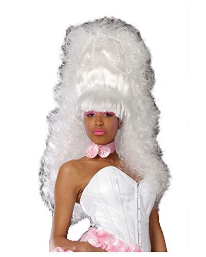 Horror-Shop Perruque Baroque Queen Wig