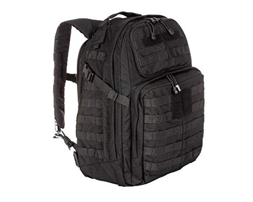 5.11 Tactical RUSH24 Military Backpack, Molle Bag Rucksack Pack, 37 Liter