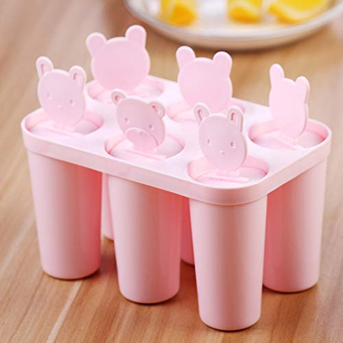 SMXU 6 DIY DIY Ice Cube Popsicle Crème Glacée Popsicle Ice Cream Crème Glacée Moule Winnie Ice Cube